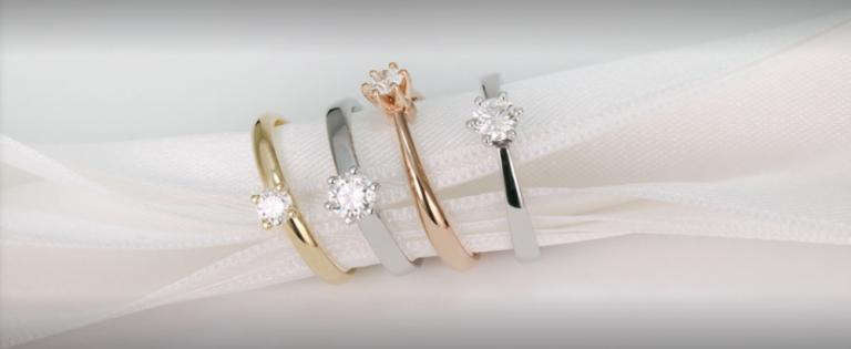 Alegerea inelelor de logodna in functie de culoarea si modelul potrivit